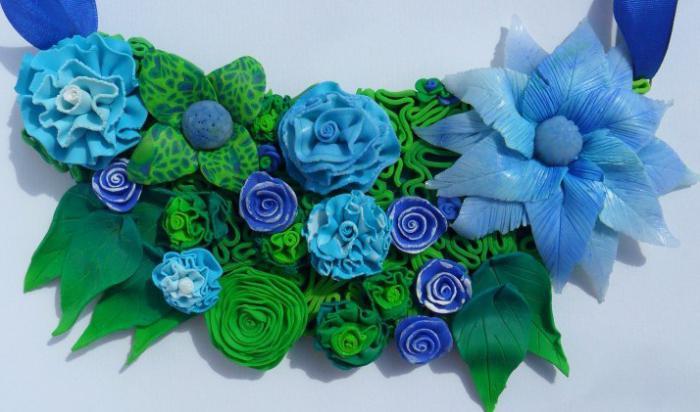 полимерная глина для цветов