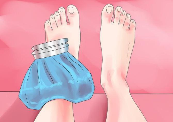 как лечить ушиб ноги в домашних условиях