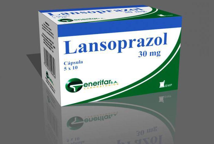 Lansoprazole инструкция по применению - фото 8