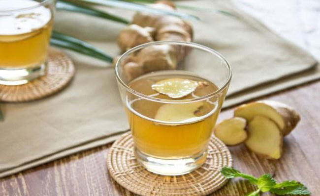 понижает ли давление чай с имбирем