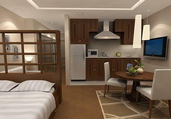 План однокомнатной квартиры с размерами