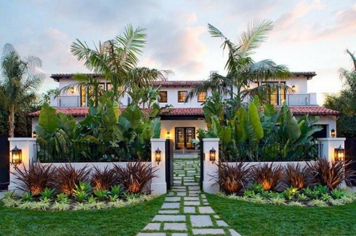 палисадник перед домом дизайн оформление