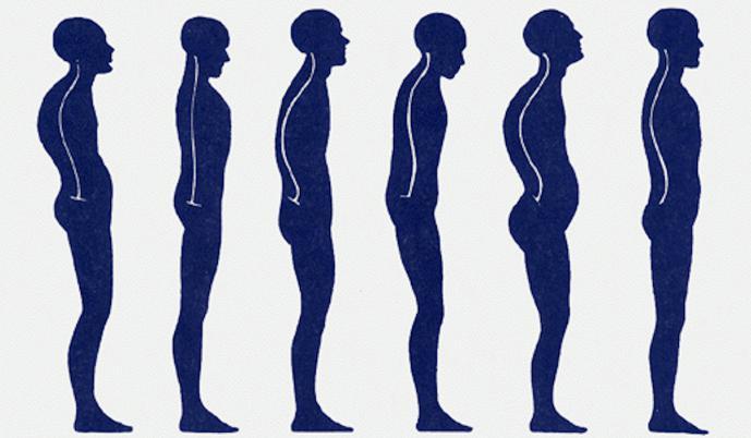 Роли физических упражнений в воспитании осанки