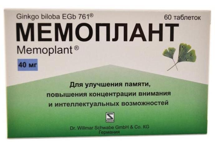 препараты для улучшения памяти и концентрации внимания у взрослых
