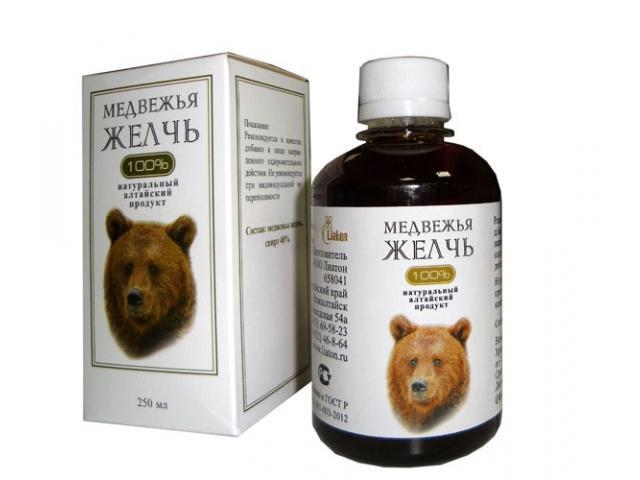 медвежья желчь применение при онкологии