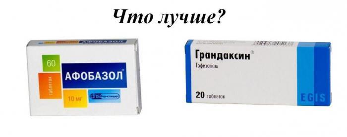 грандаксин аналоги цена