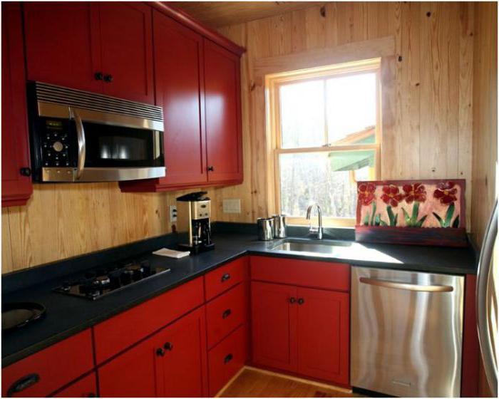 Кухня прямоугольная дизайн фото