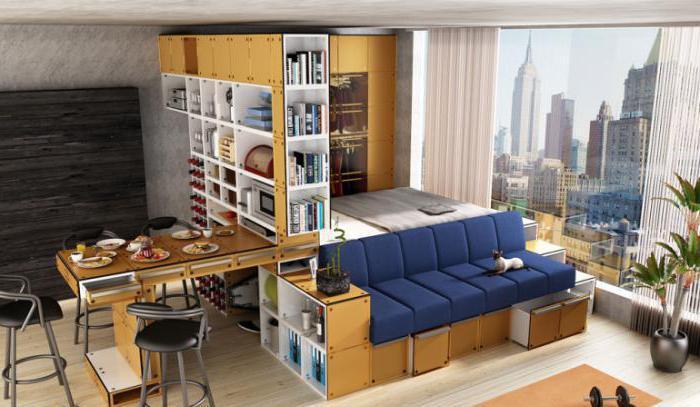 дизайн однокомнатной квартиры 30 кв м фото