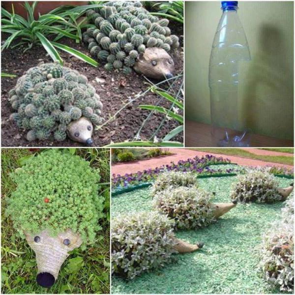 Ежик Из Пластиковых Бутылок Своими Руками Пошаговая Инструкция - фото 9