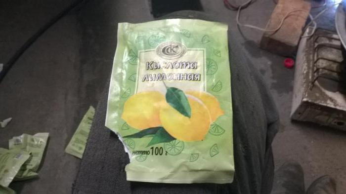 Промывка радиатора печки лимонной кислотой