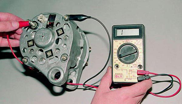 Проверка конденсатора генератора Ваз 2107, Ваз 2105, Ваз 2104