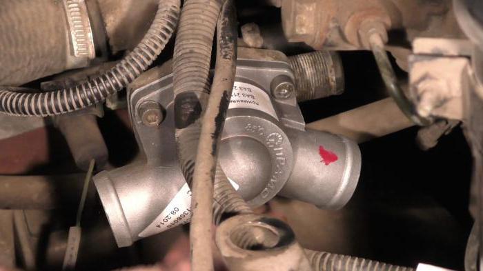 Устройство термостата ваз 2110