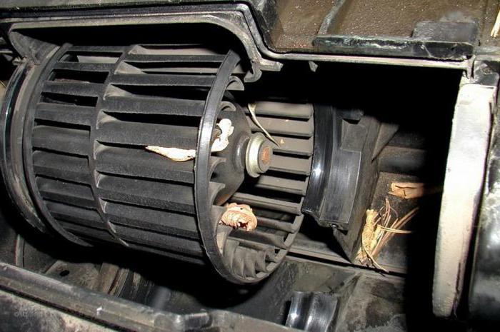 ВАЗ 2110 перестала работать печка