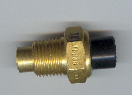 ВАЗ 2107 датчик включения вентилятора