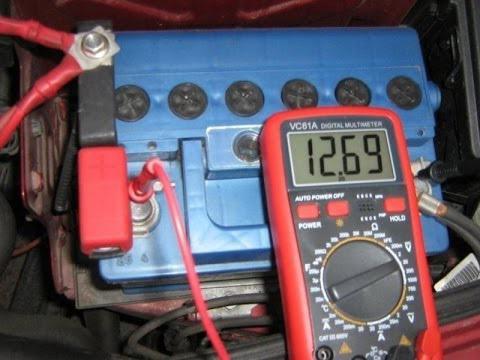 Почему горит лампочка зарядки аккумулятора ВАЗ 2107