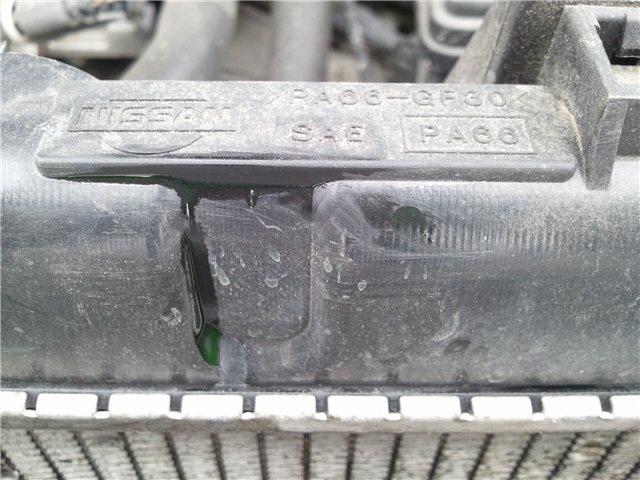 Как запаять пластик на радиаторе охлаждения