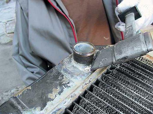 Запаять радиатор охлаждения цена