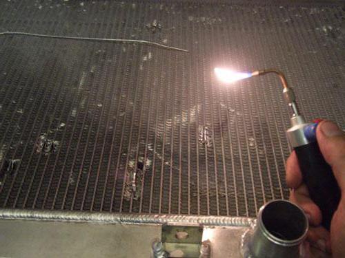 Как паять радиатор