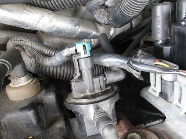 Электромагнитный клапан продувки адсорбера Калина