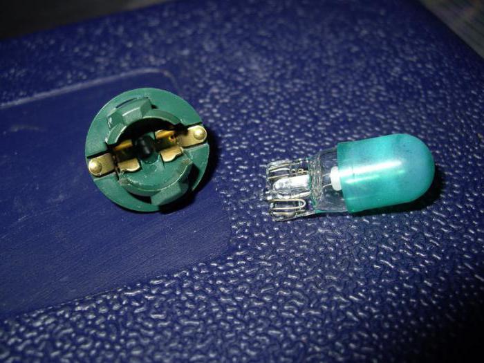 Лампочки на панели приборов Шевроле-Нива