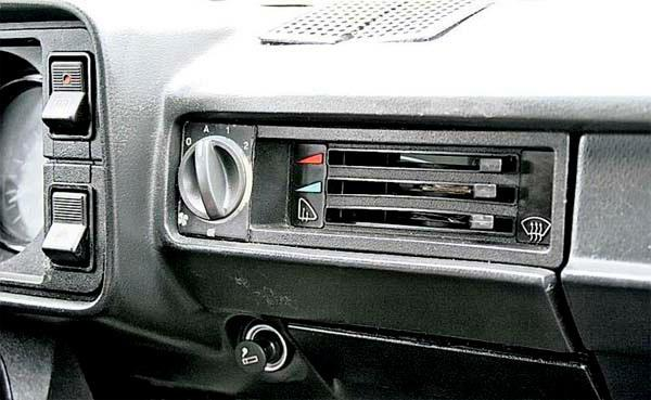 Система отопления и вентиляции ВАЗ 2107