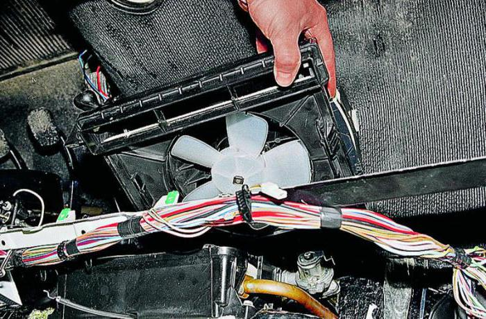 Система отопления ВАЗ 2107 инжектор