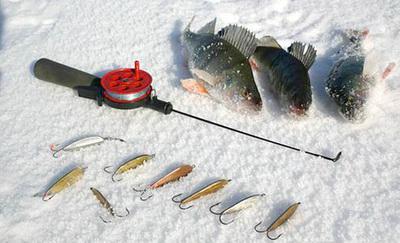 Зимняя рыбалка блесна на окуня