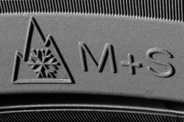 Обозначение m s на шинах