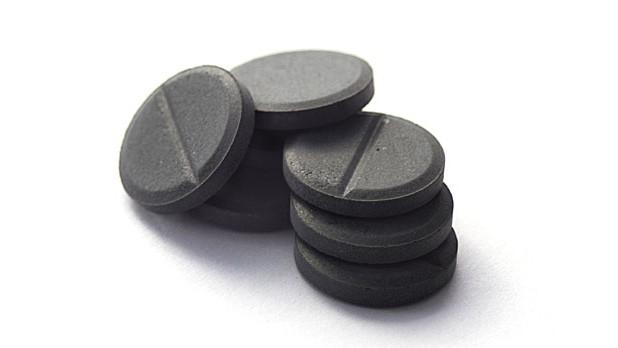Алкоголь и уголь активированный