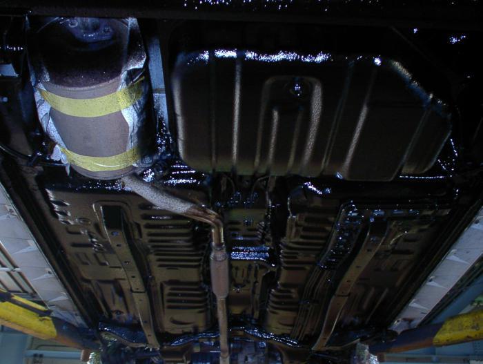 Обработка днища автомобиля цены