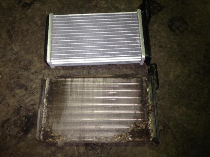 Замена радиатора печки ВАЗ 2115
