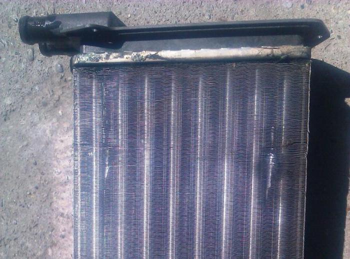 Снять радиатор печки ВАЗ 2115