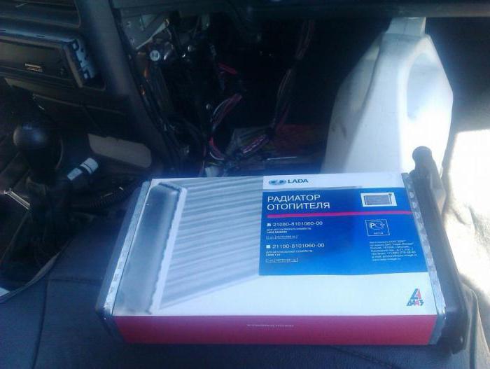 Замена радиатора печки ВАЗ 2115 фото