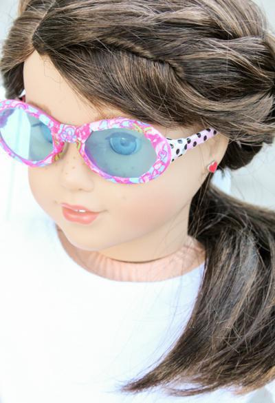 как сделать солнцезащитные очки для куклы