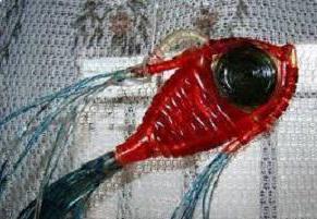 Хобби 90-х годов: плетение из капельницы