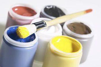 как покрасить соль гуашью поэтапно