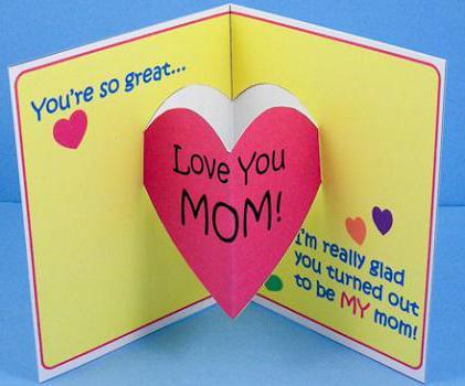 как сделать поделку для мамы