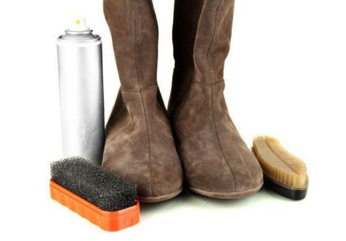 как чистить обувь из нубука в домашних