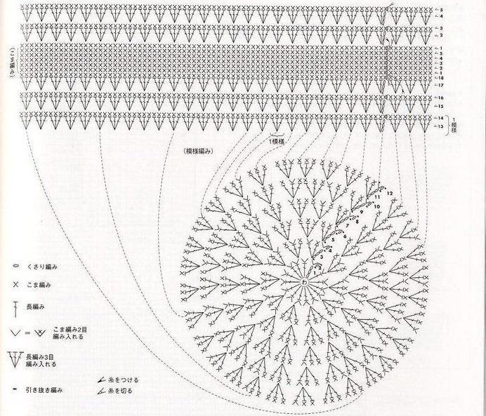 шапка минни маус крючком схема описание