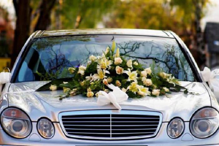 украшения автомобиля на свадьбу я ярославле