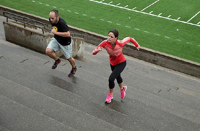 бег по ступенькам для похудения отзывы