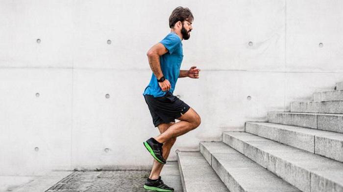 бег по ступенькам какие мышцы работают