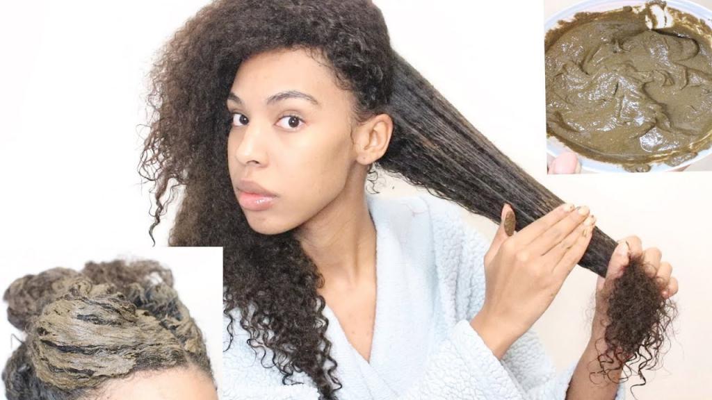 Выпрямление волос хной