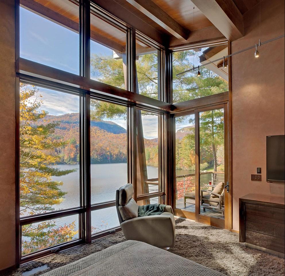 Красивые окна в домах фото часто английском