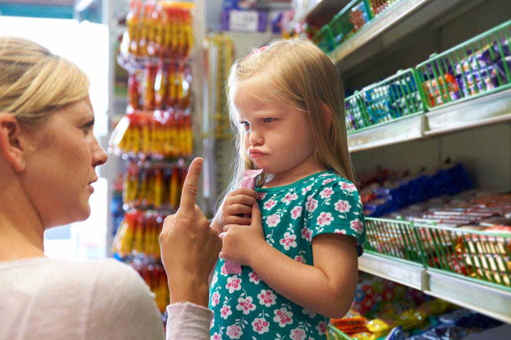 Ребенок в 3 года не слушается