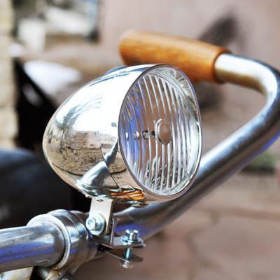 велосипед trike с фарой