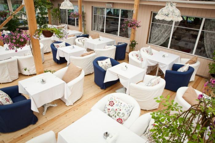 Ресторан на Крестовском полуострове. Ресторан «Регата» на Кр…