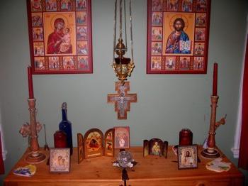 домашние иконостасы своими руками