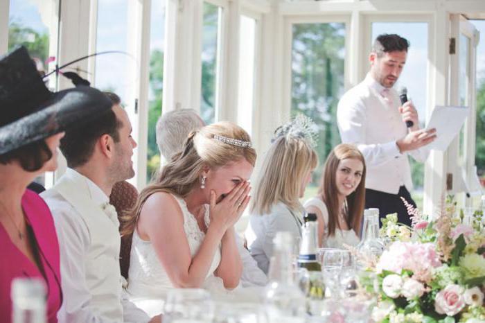 Тост від дружки на весілля