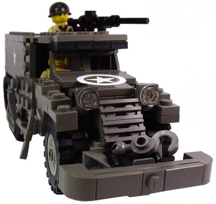 Военные машины из лего картинки